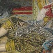 Odalisque Poster by Pierre Auguste Renoir