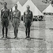 Officers At Camp Newayo, New York State Poster