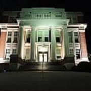Oglebay Hall At Night Poster