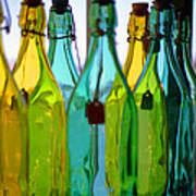 Ogunquit Bottles Poster