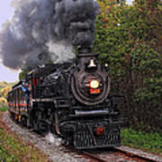 Ohio Central #1293 Steam Poster