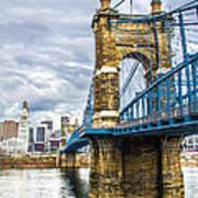 Ohio River Bridge Poster