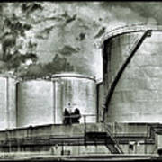 Oil Storage Tanks 1 Poster
