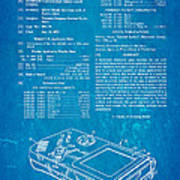 Okada Nintendo Gameboy Patent Art 1993 Blueprint Poster
