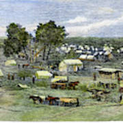 Oklahoma City, 1889 Poster
