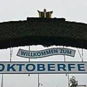 Oktomberfest In Bavaria Poster