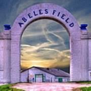 Old Abeles Field - Leavenworth Kansas Poster