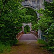 Old Alexandra Bridge Poster
