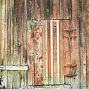 Old Barn Door Poster