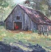 Old Barn In Arkansas Poster
