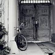Old Bicycle Poster by Jelena Jovanovic
