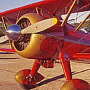 Old Biplane I I I Poster