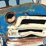 Old Blue Poster