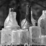 Old Bottles Two Poster