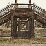 Old Bridge Poster