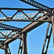 Old Bridge Structure Poster