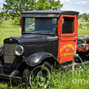 Old Chevrolet Truck Poster