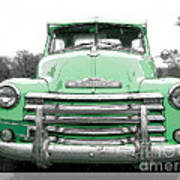 Old Chevy Pickup Truck Poster