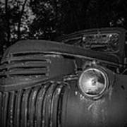 Old Chevy Truck 2 Poster