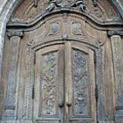 Old Church Door Poster
