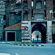 Old City Gate Vicenza 1962 Poster