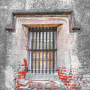The Old City Jail Window Chs Poster