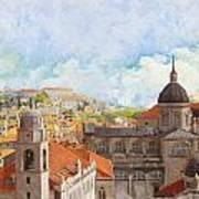 Old City Of Dubrovnik Poster