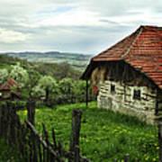 Old Cottage Poster by Jelena Jovanovic