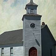 Old Country Church Poster