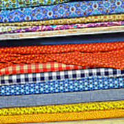 Old Country Store Fabrics Poster