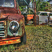 Old Dodge Truck Poster