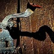 Old Door Handle Poster