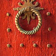 Old Door Knocker Poster