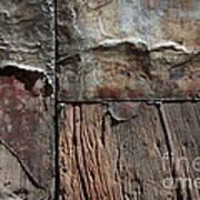 Old Door Textures Poster