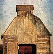 Old Farm Building Poster