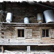 Old Farmhouse Poster