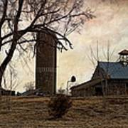Old Farmstead  Poster