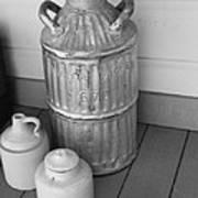 Old Fashion Milk Jug Poster