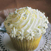Old Fashioned Lemon Cupcake Poster