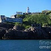 Old Fort Amherst By Barbara Griffin Poster