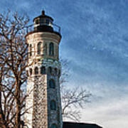Old Fort Niagara Lighthouse 4478 Poster