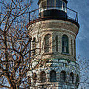 Old Fort Niagara Lighthouse 4484 Poster