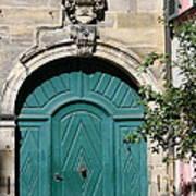Old German Door  Poster