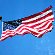 Old Glory - American Flag By Sharon Cummings Poster