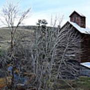 Old Grain Barn Poster