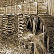 Old Grist Mill Photo Poster