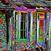 Old House Pop Art Poster