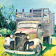 Old Kula Truck Poster