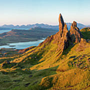 Old Man Of Storr - Pano Poster