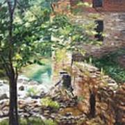 Old Mill Stream I Poster